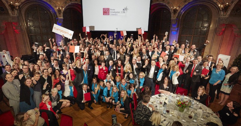 Great Place To Work: Die GewinnerInnen 2016