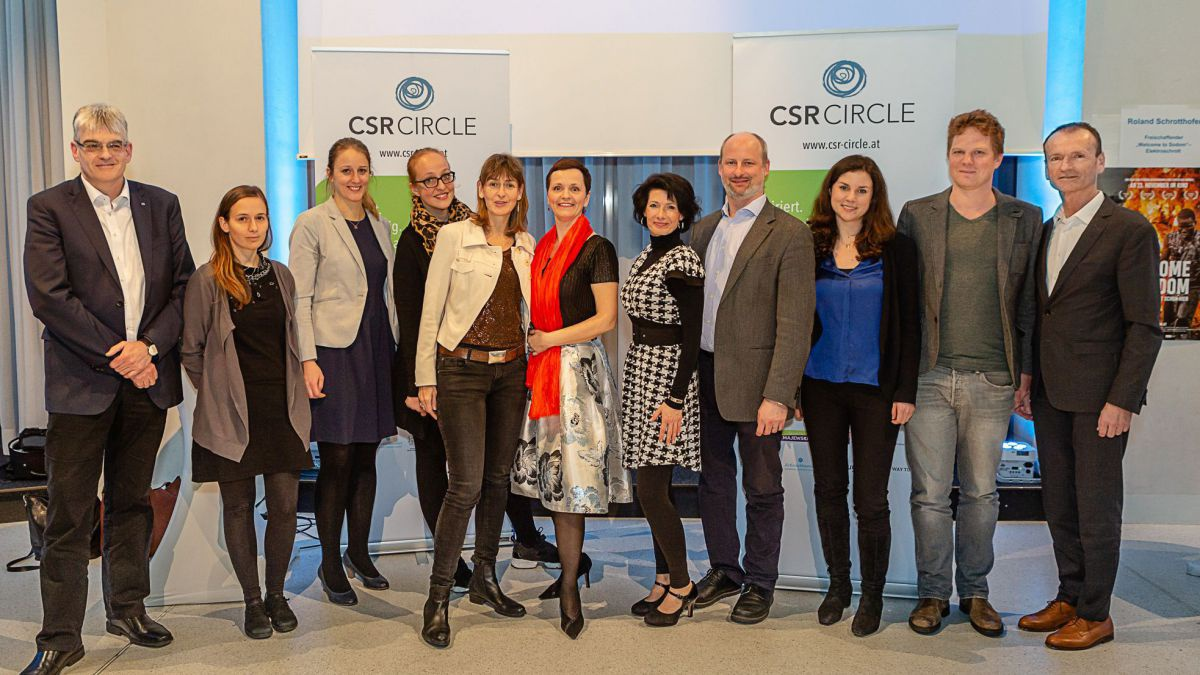 CSR-Circle-Team und ExpertInnen